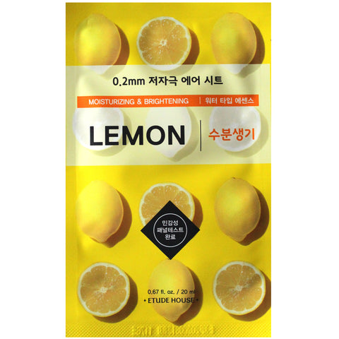 Etude 0.2 Therapy Air Mask (Lemon)