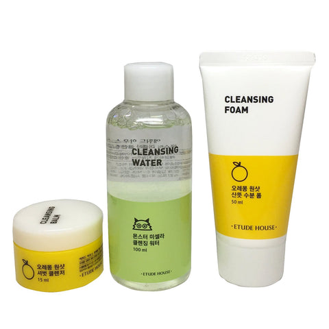 ETUDE TRIPLE CLEANSING SET