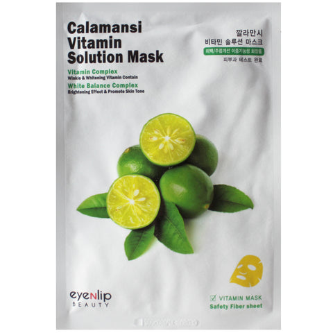 EYENLIP CALAMANSI VITA SOLUTION MASK