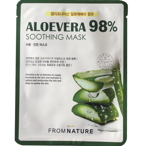 FROM NATURE ALOE VERA 98% SOOTHING MASK