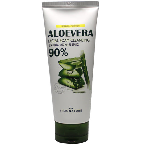 FROM NATURE ALOE VERA FACIAL FOAM CLEANSING