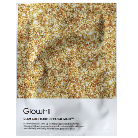 GLOWHILL GLAM GOLD MAKE UP FACIAL MASK
