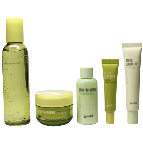 GOODAL GREEN TANGERINE HONEY MOIST SKIN CARE SET