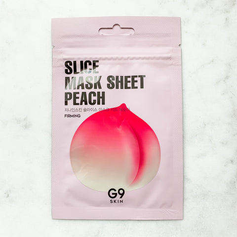 G9 SKIN SLICE MASK SHEET - PEACH