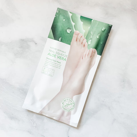 NATURE REPUBLIC FOOT PEELING MASK