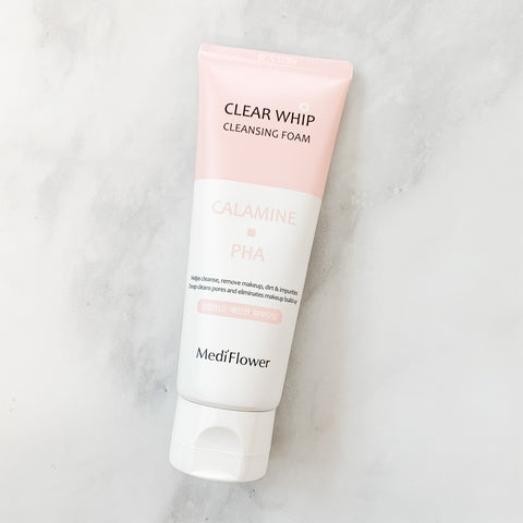 Mediflower we Clear Whip Cleansing Foam (various)