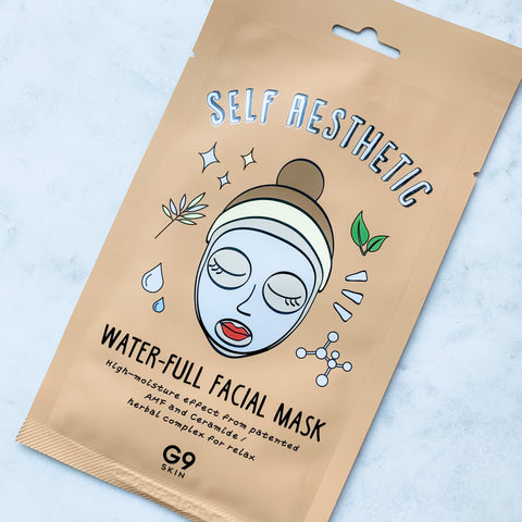 G9 SKIN SELF AESTHETIC WATER-FULL FACIAL MASK