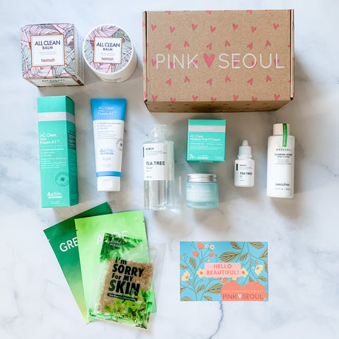 K-Beauty Starter Kit - Oily/Acne-prone Skin