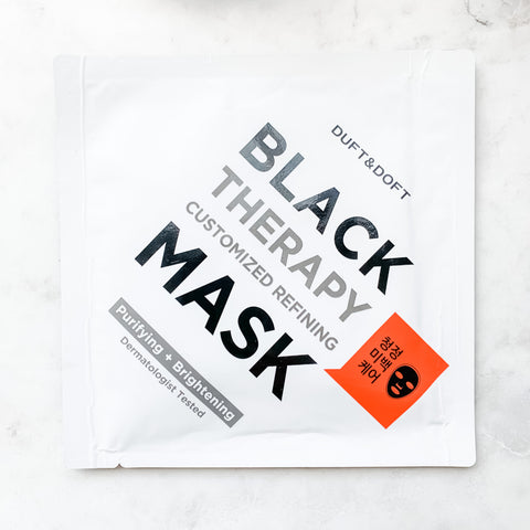 DUFT & DOFT Black Therapy Mask