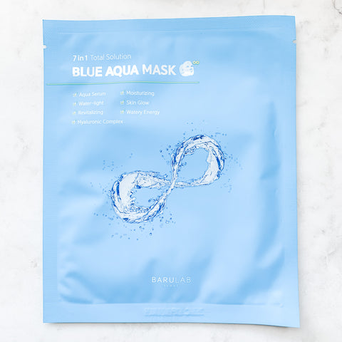 BARULAB 7 IN 1 TOTAL SOLUTION BLUE AQUA MASK