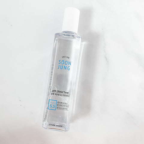 Etude Soon Jung pH 5.5 Relief Toner