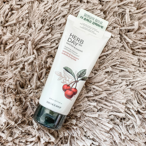 THE FACE SHOP HERB DAY 365 CLEANSING FOAM (VARIOUS)