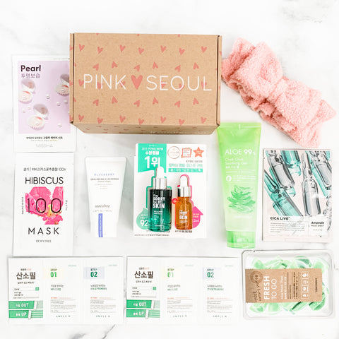 PinkSeoul Soothing Skincare Set