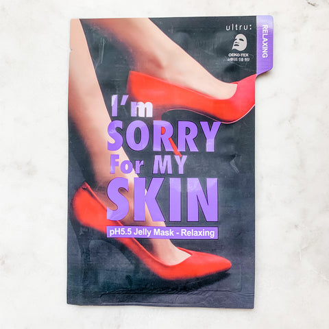 I'M SORRY FOR MY SKIN PH5.5 JELLY MASK (VARIOUS)