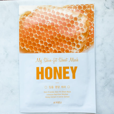A'pieu My Skin-Fit Honey Sheet Mask