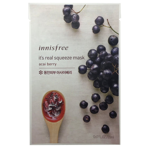 Innisfree It's Real Squeeze Mask (Various)