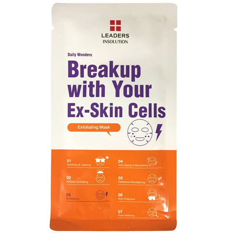 LEADERS DAILY WONDERS BREAKUP WITH YOUR EX-SKIN CELLS MASK