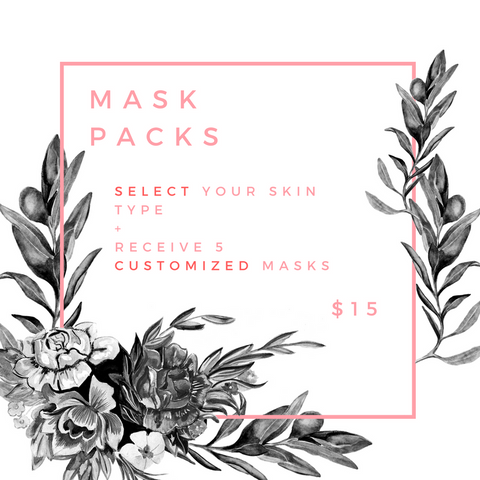 Customized Mask Packs