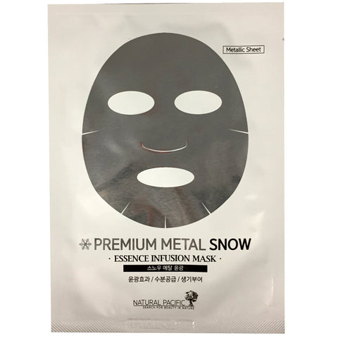 NATURAL PACIFIC PREMIUM METAL SNOW MASK