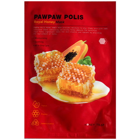 HONEY TRAP PAWPAW POLIS ROYAL HONEY MASK
