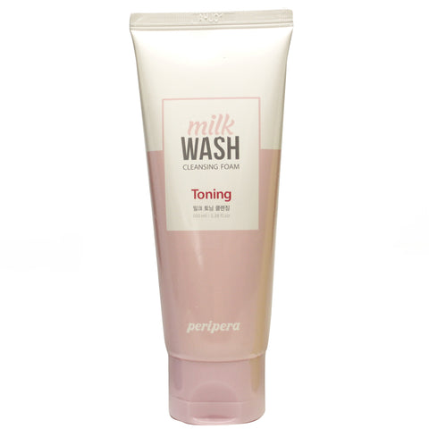 PERIPERA MILK WASH CLEANSING FOAM #1 MILK TONING