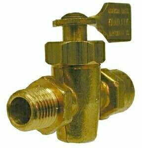 BRASS SOLID BOTTOM VALVES