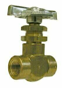 SCREW STEM SHUT-OFF NEEDLE VALVES