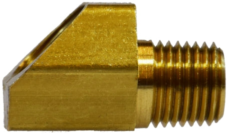 Brass 45 Degree Inverted Flare Elbow