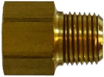 Brass Pipe Thread Adapter With 0 0625 Orifice Restriction Pipe Adapter