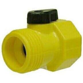 PLASTIC GARDEN HOSE BALL VALVE   CYCOLAC BODY AND BALL   Fast Fittings
