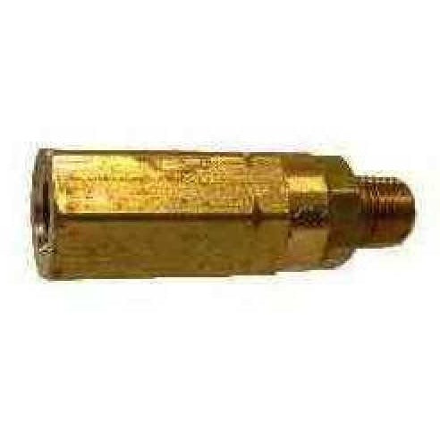 BRASS HIGH PRESSURE CHECK VALVE - 3000 PSI - MNPT X FNPT – FastFittings com