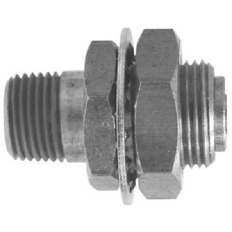 Gladhand Bulkhead Brass Connector Fastfittings Com