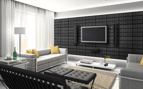 Faux Leather Wall Panels