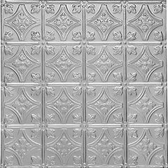 "Princess Victoria - Tin Ceiling Tile - 24""x24"" - #0604 - Designer Ceiling Tiles"