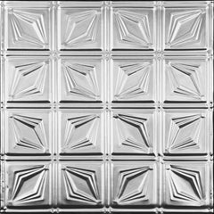 "Tin Ceiling Tile - 24""x24"" - #0611 - Designer Ceiling Tiles"