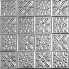 "Tin Ceiling Tile - 24""x24"" - #0612 - Designer Ceiling Tiles"