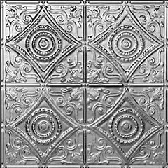 "Tin Ceiling Tile - 24""x24"" - #1219 - Designer Ceiling Tiles"