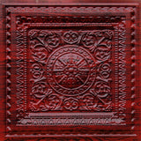 "Faux Tin Ceiling Tile 24"" x 24"" #223 - Designer Ceiling Tiles"
