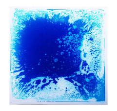 "Liquid Fusion - Liquid Floor Tiles - Blue - 19.7"" x 19.7"" - Designer Ceiling Tiles"