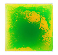 "Liquid Fusion - Liquid Floor Tiles - Green - 19.7"" x 19.7"" - Designer Ceiling Tiles"