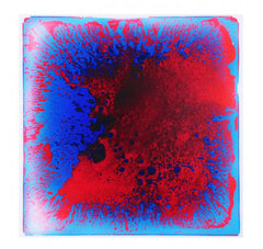 "Liquid Fusion - Liquid Floor Tiles - Red Lava - 19.7"" x 19.7"" - Designer Ceiling Tiles"