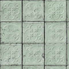 No.05 Brooklyn Tins Wallpaper, Roll - Designer Ceiling Tiles