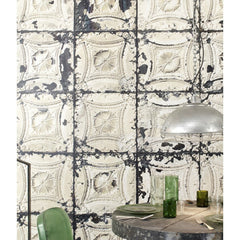 No.01 Brooklyn Tins Wallpaper, Roll - Designer Ceiling Tiles