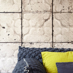 No.03 Brooklyn Tins Wallpaper, Roll - Designer Ceiling Tiles