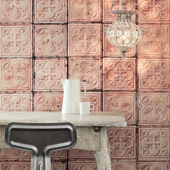 No.06 Brooklyn Tins Wallpaper, Roll - Designer Ceiling Tiles