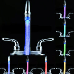 TEMPERATURE CONTROLLED COLOR CHANGING LED FAUCET (NO BATTERY / ELECTRICITY NEEDED) - Designer Ceiling Tiles
