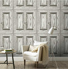 HaokHome - Vintage Faux Woods Panel - 3D Wallpaper - Designer Ceiling Tiles