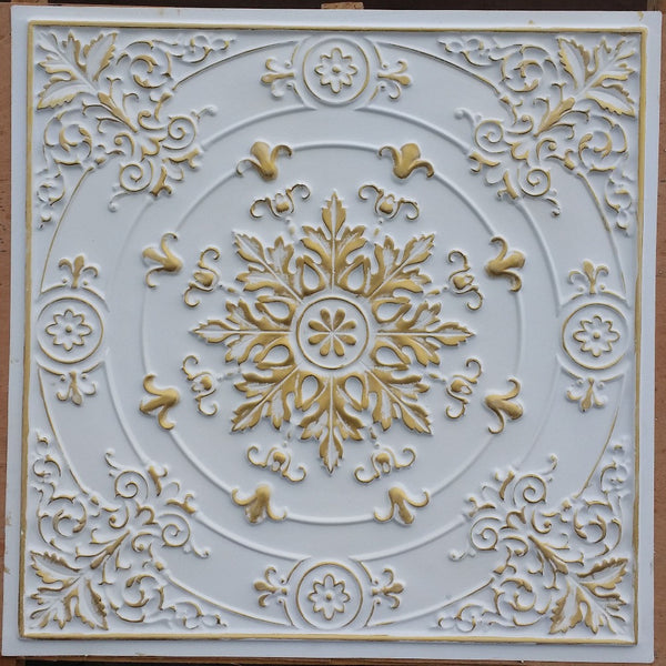 Vintage Series - Faux Tin Ceiling Tile - VS18 - 10 Tiles - Designer Ceiling Tiles