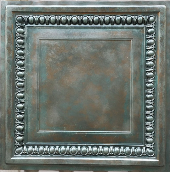 Vintage Series - Faux Tin Ceiling Tile - VS06 - 10 Tiles - Designer Ceiling Tiles