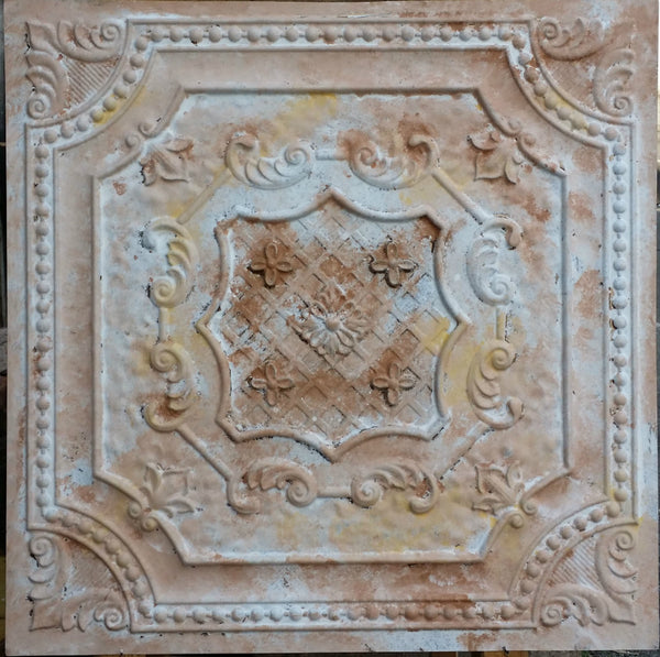Vintage Series - Faux Tin Ceiling Tile - VS04 - 10 Tiles - Designer Ceiling Tiles